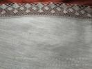 Скатерть лен 100% серый Атлас д.180 см.