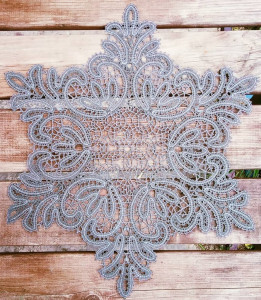 Салфетка Снежинка д.40 Вологодское кружево