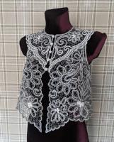 Блуза Cнегурочка  (40-42 р. в наличии) Елецкое кружево