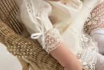Крестильное платье цвет шампань арт. 217