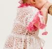 Кружевное платье для девочки-2а
