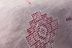Постельное бельё лён 8 кубанцов серое