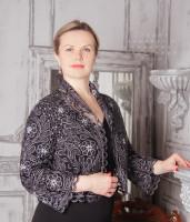 Жакет Пион  Вятское кружево