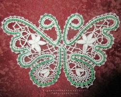 Бабочка Вятское кружево