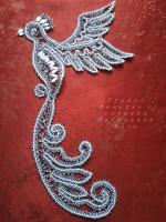 Птица Елецкое кружево