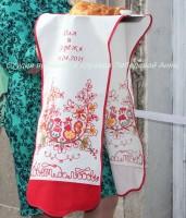 Вышивка имен на рушнике (сам рушник в цену не входит)
