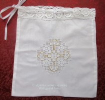 Мешочек для крестильного набора №2