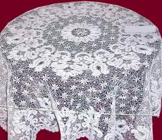 Кружевная скатерть  170/170 квадратная под заказ