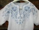 Крестильная рубашка для мальчика 91 с