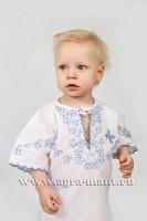 Крестильная рубашка для мальчика 88-С