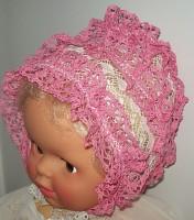 Чепчик 807 розовый
