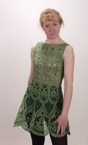 Платье 1 Вятское кружево