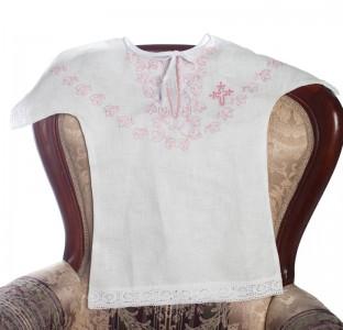 Крестильная рубашка 87 Б  для девочки
