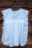 Крестильное платье-накидка .