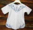 Крестильная рубашка для мальчика 85