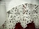 Кружевная скатерть   с оплетом Елецкие кружева