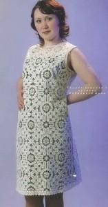 Платье 3 Вятское кружево