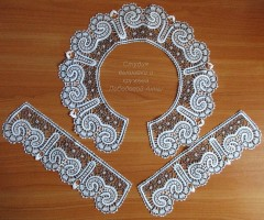 Комплект Ионический Вятское кружево