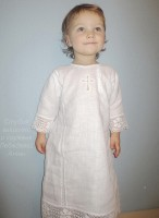 Крестильная рубашка Косоворотка
