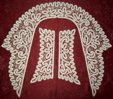 Воротник с манжетами 143 Вологодское кружево